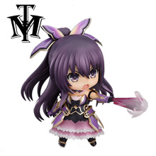 DATE A LIVE Model Yatogami Tohka Princess Nendoroid 354 Sandalphon Dating War 10CM PVC Action Figure Collection Doll cartoon Toy(China)