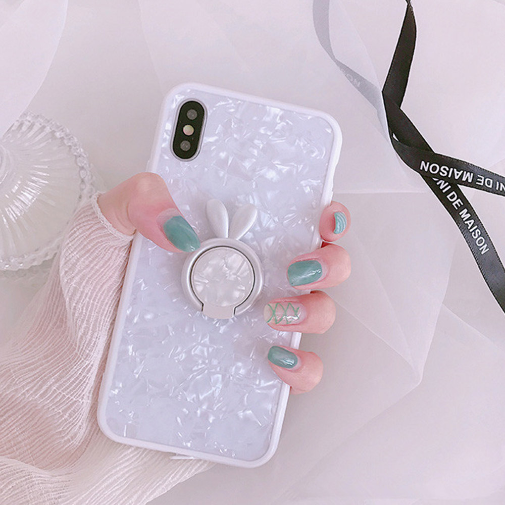 Heyytle Kickstand Phone Stand Holder Cover For Apple iPhone X 8 7 6S 6 Plus Case Shell Cute Fantasy Soft TPU Back Cover Cases 8