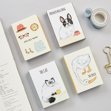 1Pack Kawaii Animal Good Day In Your Life 6 Folding Memo Pad N Times Sticky Notes Memo Notepad Bookmark Gift Stationery