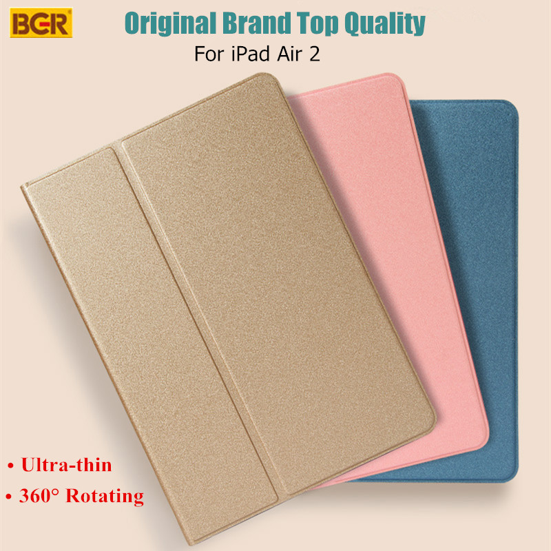 For iPad Air 2 Case Original Brand Top Quality Slim 360 Degree Rotating PU Leather Cover Case For iPad Air 2<br><br>Aliexpress