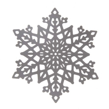 1Piece Christmas Snowflake Card Model 8.5*9.8cm Metal Steel DIY Christmas Decoration Cutting Dies Stencil Make Window Sticker
