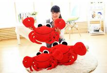 art bed reading sleeping nursing PLUSH TOY CUSHIONS cool  wedding TO FOR KIDS FLOOR FUNNY CRAWLING CRAB CUSHION