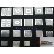 18PCS/LOT Direct Heated BGA Stencil Template Commonly used+ One Station mcp67mv-a2 Best Quality Hot Offer Components DIY Kit