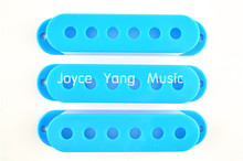 Niko Sky Blue Single Coil Pick up Covers For Fender Strat Style Electric Guitar Free Shipping Wholesales(China)