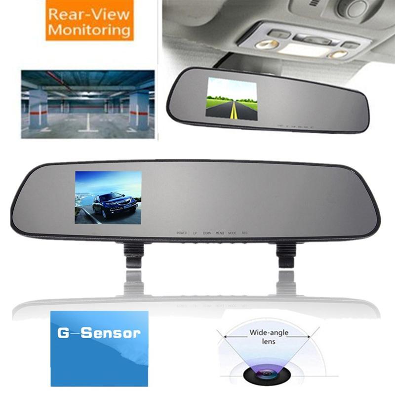 2.4 Inch 720P HD TFT Car DVR Vehicle Camera Lens Video Recorder Dash Cam G-sensor Night Vision Parking Video Recorder 9