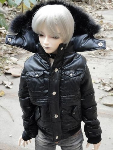 [wamami] Boy Quilted Jacket/Coat/Outfit SD17 BJD Dollfie Black<br>