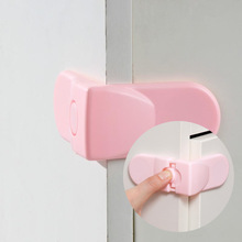 free shipping 20 pcs Cabinet Drawer Cupboard Refrigerator Toilet Door Closet Plastic Lock Baby Safety LockCare Child Safety(China)