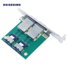 Wholesale Dual Port Internal MINI SAS 4I SFF-8087 to External MINI SAS SFF-8088 PCI Card