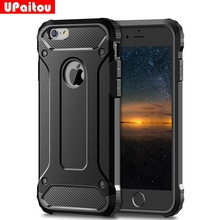 Buy UPaitou Rugged Dual Layer Armor Case iPhone 6 Case Heavy Duty Shockproof Cases Cover iPhone 6 6S Hybrid Hard PC TPU 2in1 for $2.58 in AliExpress store