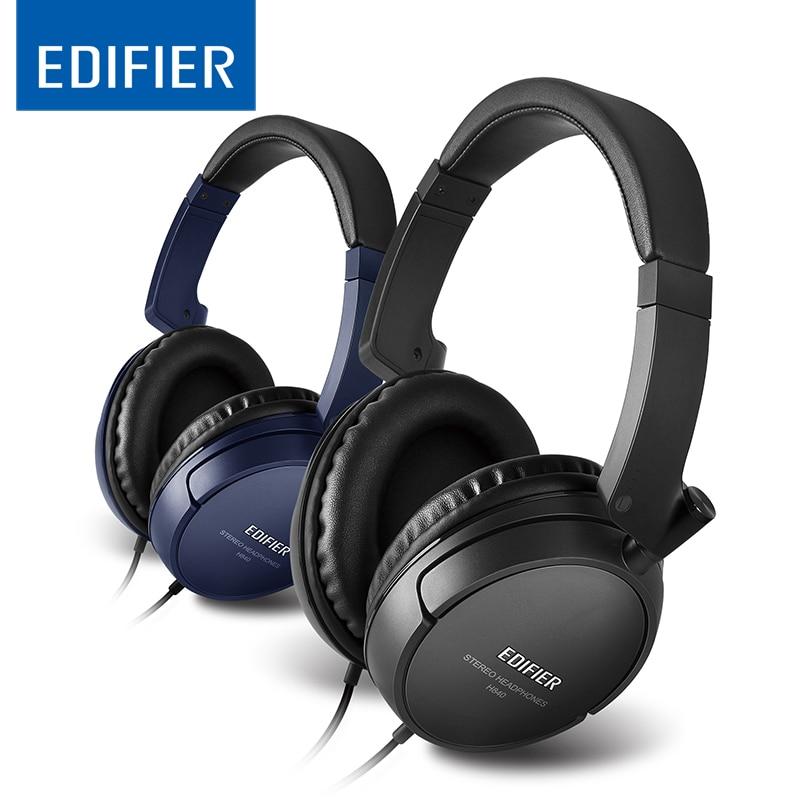 in Stock Edifier H840 Super Deep Bass Bests Sound Studio Monitor HIFI DJ Music Stereo Computer Mobile DV Headphones Headset<br>