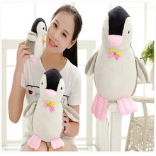 Super Meng penguin doll plush toy doll doll small children birthday gift ideas