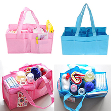 1pc Hot Mummy Bag Bottle Storage Multifunctional Separate Bag,Nappy Maternity Handbag Baby Tote Diaper Organizer