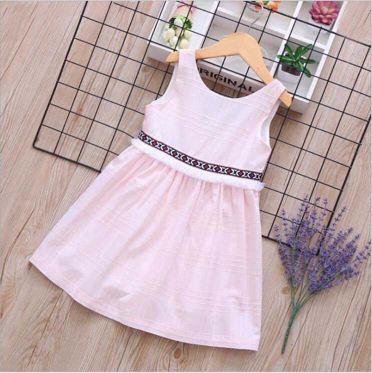 baby party dresses 2019 kids cotton dress fashion girls belle dress ational style kids clothing elegant girls princess dresses