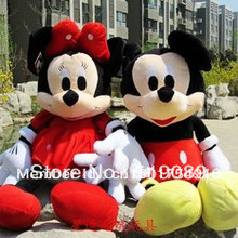 Free Shipping Special price 50cm Lovely Mickey Mouse And Minnie Stuffed Animal Toys for children's gift ,Christmas Gifts
