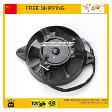 ATV Radiator Cooling Fan Motor Assembly SPORTSMAN 200cc 250cc ATV UTV GO KART electric round radiator cooling fan free shipping(China)