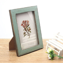 Fahion design Vintage Photo Frame Wooden Wedding Pictures Frames Size 17.6*12.6cm
