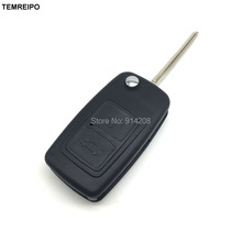 Flip Remote Key Replacement Key Blank Cover Remote Control Folding Key Case Shell Fob A21 blade Fit For Chery A5