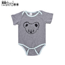 Baby boy girl clothes kids Koala short sleeve romper toddler jumpsuit lovely casual cotton newborn top infant clothing set best
