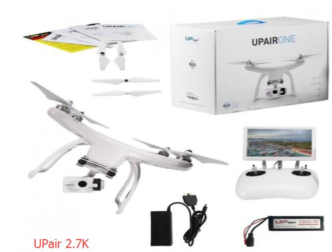 Orignal UPair quadcopter Chase 5.8G FPV 2.7K or 4K Camera With 2-Axle Gimbal UPairOne ( 2.7K plus or 4K Plus) RC Quadcopter