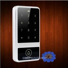 Waterproof Silver 13.56Mhz IC Access Control with Metal Case+Backlight