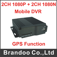 1080P MDVR 4CH Car DVR Mobile DVR Kit Support HDMI Output For Bus Taxi Truck Vehicle(China)