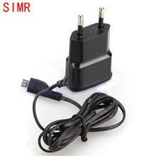 SIMR New 5V 0.7A European Plug Universal Travel Charger AC Power Adapter All Charges for EU Plug Adapter