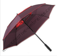 3 persons sport  fiberglass golf umbrella,outdoor sport umbrellas,auto open.business umbrellas,windproof,anti-thunderbolt