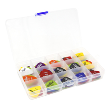 Assorted Thickness Lots of 100Pcs Guitar Plectrums Picks Alice Matte+1 Pcs Plastic Picks Box Case Acoustic Electric(China)