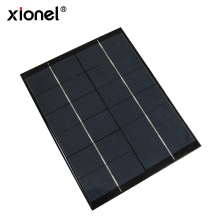 Xionel 5.2w 6v Mini Solar Panel Module Solar System Epoxy Solar Cell Charger DIY 210x165mm(China)