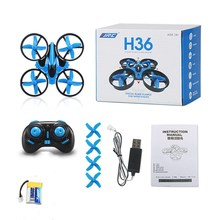 JJRC H36 New mini rc drone Headless One Key return Pocket quadcopter UFO Remote Control Toys Nano Copters