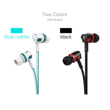 Earphone For Phone Hifi In Ear Earphone 3.5mm Wired Cheapest Earphone TPE Line 100%Quality Candy Color 2017 Fashion Design