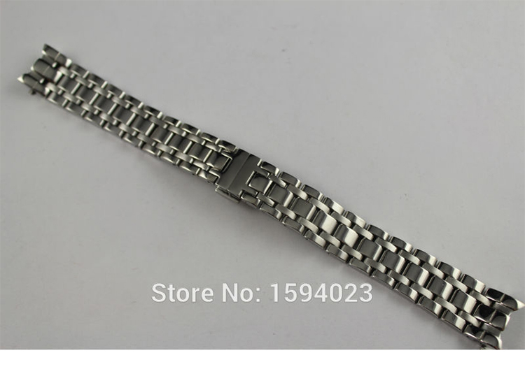 16mm T050207A T050217 New Watch Parts Solid Stainless steel bracelet strap Watch Bands For T050 Free Shipping<br>