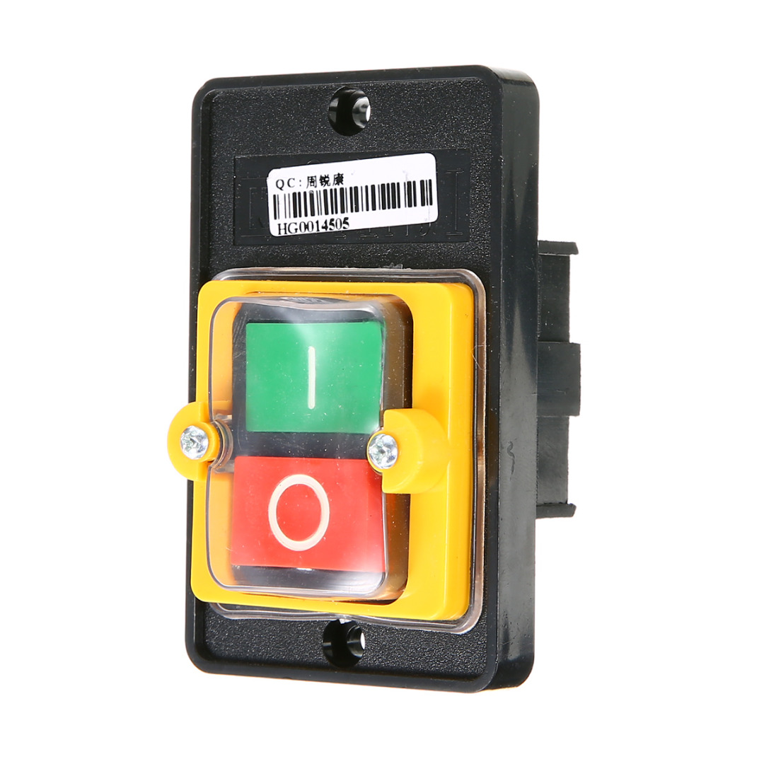 2pcs ON//OFF Waterproof Push Button Switch Control Switch 10A 220//380V KAO-5