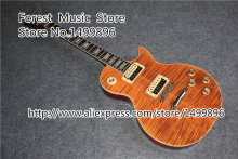 Hot Selling Slash Signature Artist Model LP Standard Guitars Electric China Orange Tiger Flame Finish Guitarra In Stock