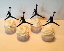football player Silhouette Cupcake Toppers sports event Party Picks baby shower wedding birthday toothpicks decor