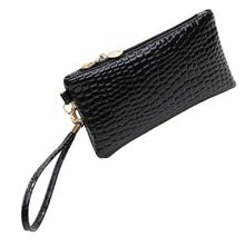 Alibaba Discount 2017 Fashion Women Alligator Leather Handbag Casual Day Clutch Zipper Shoulder Bag Ladies Bag Handbag feminina
