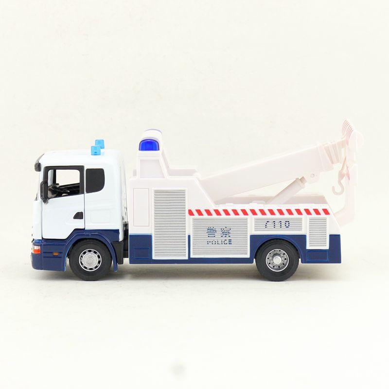 1//50 Maßstab Druckguss Feuer Motor Schutz Lkws Legierung Fahrzeug Modelle