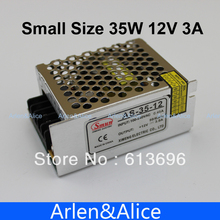 35W 12V 3A 100V-240V INPUT  Small Volume Single Output Switching power supply for LED Strip light