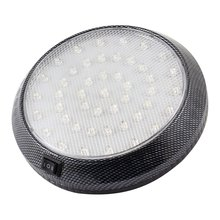 DC 12V Car Vehicle White 46 LED Dome Roof Ceiling Interior Light Lamp(China)