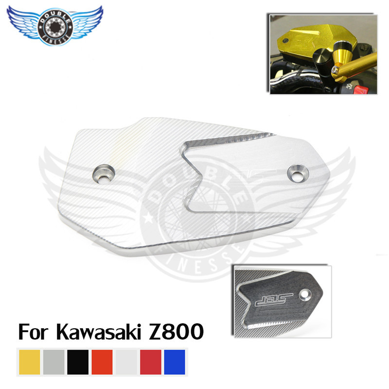 new 7 colors optional motorbike accessories titanium color motorbike brake pump cover cnc aluminum tail cover for kawasaki z800<br><br>Aliexpress