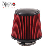 "Air Filter 3"" 76mm Air Intake Filter Height High Flow Cone Cold Air Intake Performance"