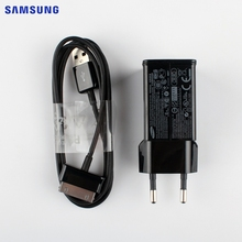 SAMSUNG Original Tablet Charger Charging Adapter for Samsung P7510 P7500 P5100 P6200 P1000 P6800 P3100 N8000 P7300 P3100 + Cable(China)