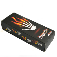 King Magic Finger Fire Magic Stage Magic Tricks Magician Gimmick Free Shipping