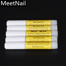 New arrive Available  2g gram super glue Nail Glues For False Nail Art Tips / Nail Care Nail tools