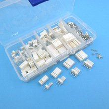 KF2510 Kits 40 sets Kit in box 2p 3p 4P 5pin 2.54mm Pitch Terminal / Housing / Pin Header Connectors Adaptor