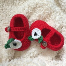 QYFLYXUE- Crochet Baby Sandals, Baby boy Flip Flops, Crochet Baby bootee-- Made to Order