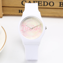 Brand New Fashion Cute  Harajuku Dream Girl's Boy's Children Watch Waterproof Sport Jelly Students' Watch Quartz Watches