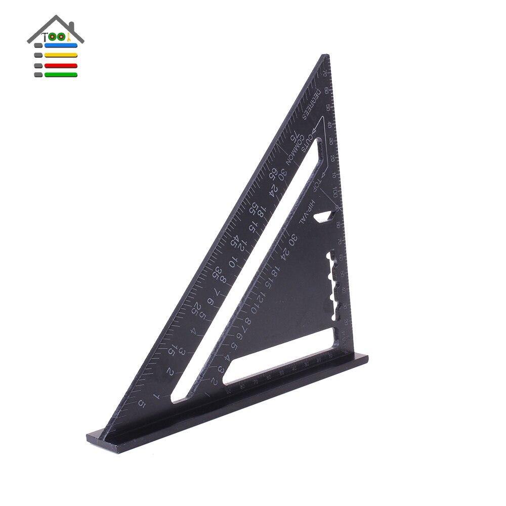 Aluminun Alloy Triangle Ruler Angle Ruler (4)