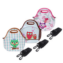 Insulated Portable Lunch Bag Thermal Box Tote Food Container Hangbag Adjustable Shoulder Strap  Lunch box for Women Kids E5M1