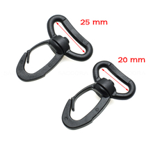 20mm 25mm Heavy Duty Plastic Snap Hooks for Weave Paracord Lanyard Backpack Straps Outdoor sports bag accessories